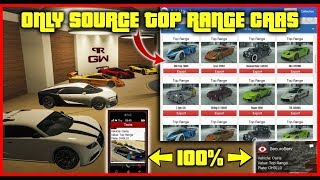 How to ONLY Source TOP Range Cars & Sell in Import Export - GTA Online 2019 (The BEST Easiest Way)