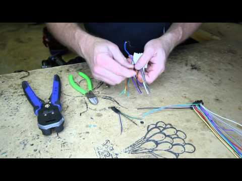 How To Understanding Wire Harness Color Codes For Pioneer Avh X