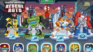 Transformers Rescue Bots: Disaster Dash Hero Run #292 | Save the world with epic DinoBots!