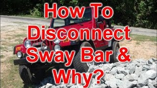DB%20SWAYBAR%20DISCO%202 How To Jeep Wrangler Sway Bar Disconnecting And Why