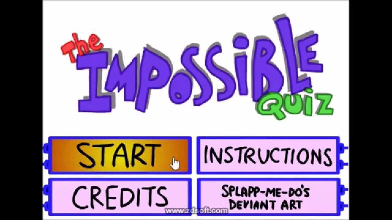 Impossible Quiz 1