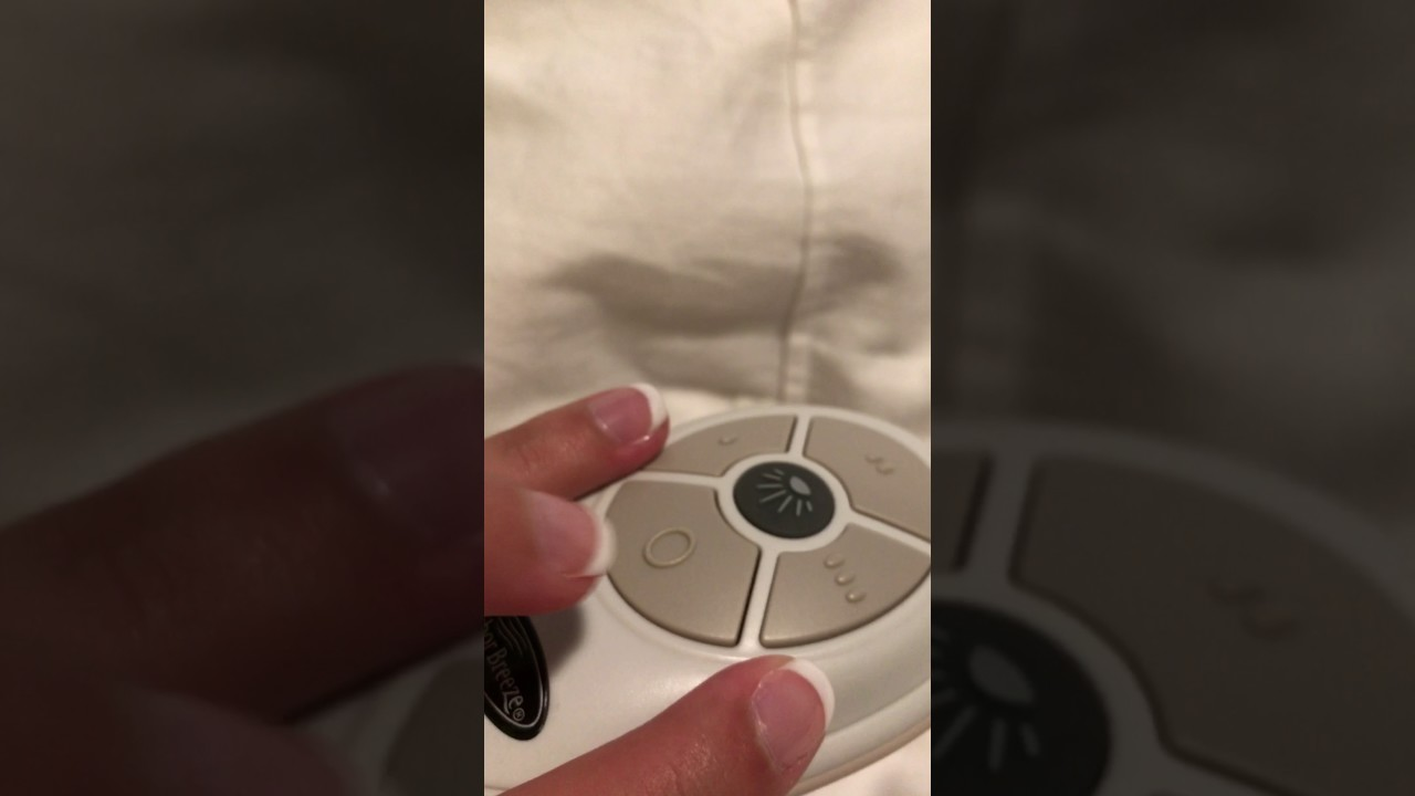 Harbor Breeze Ceiling Fan Remote Control Doesn T Work