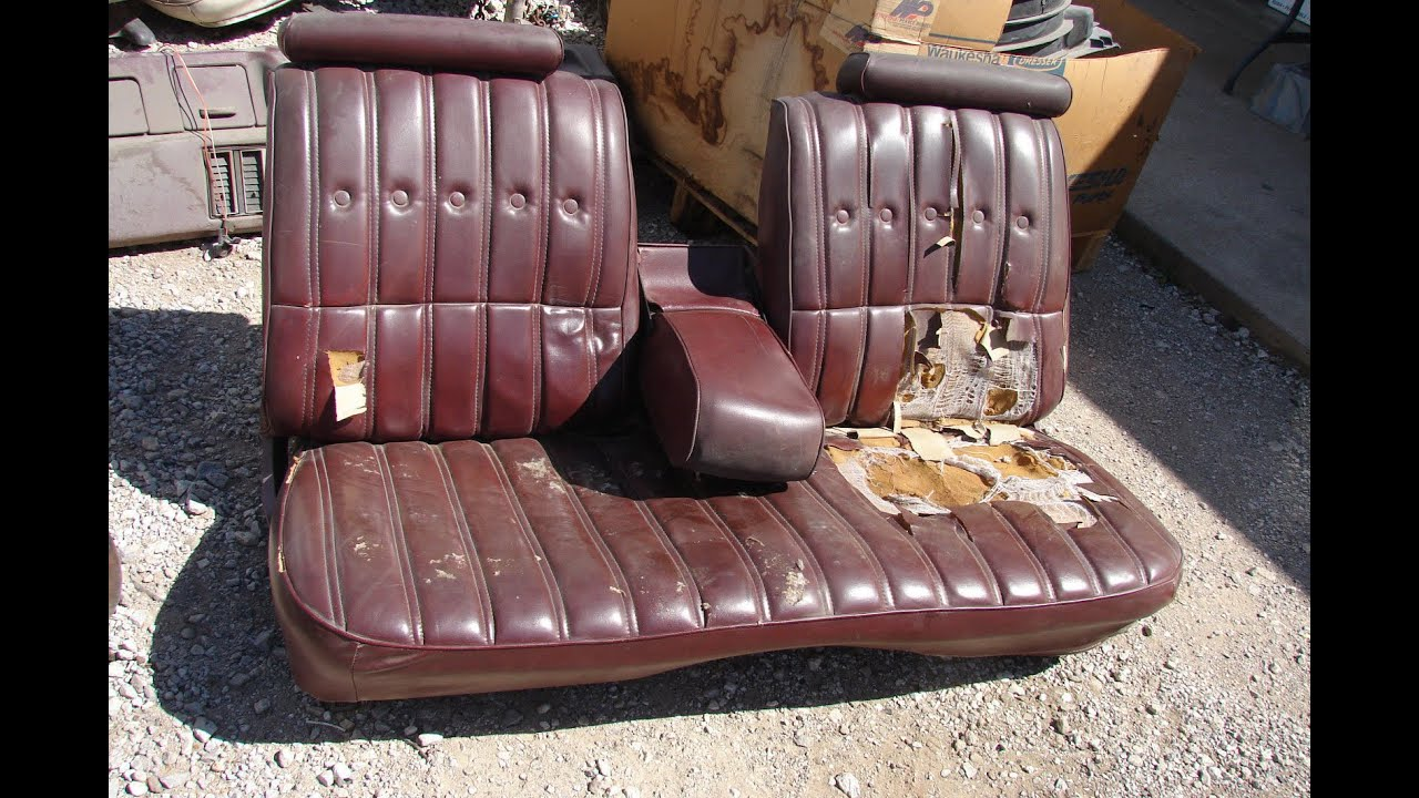 1970 El Camino Bench Seat Cover Velcromag