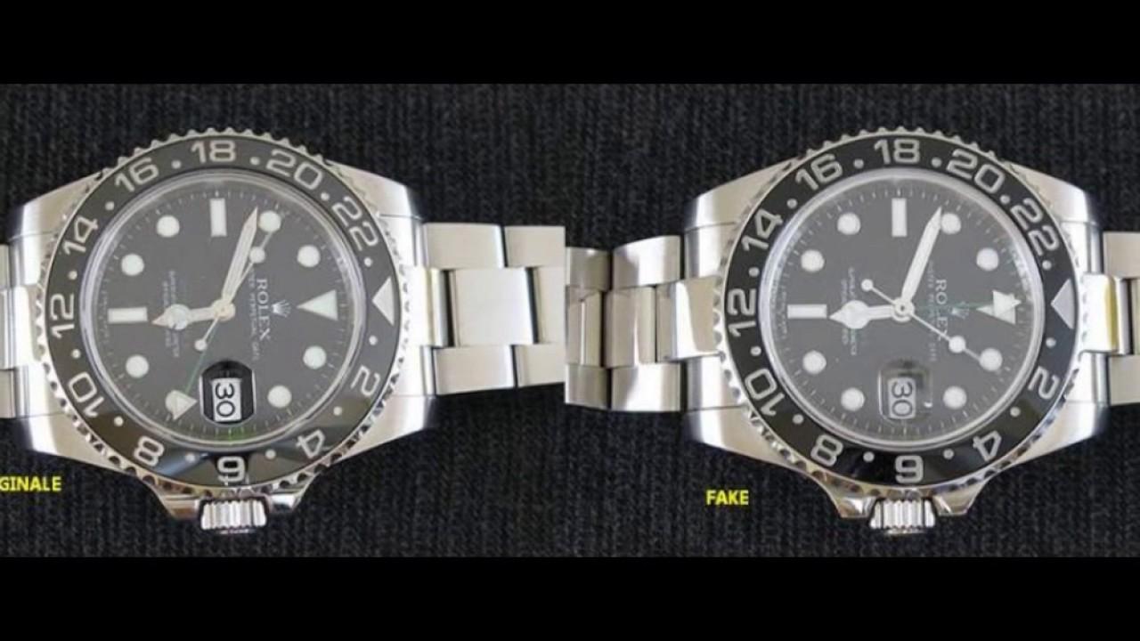 93ecfe94af7 Riconoscere un Rolex falso - YouTube