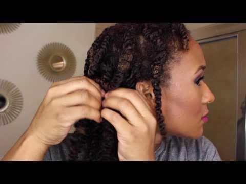 Big Chop Hair corkscrew clip ins Review