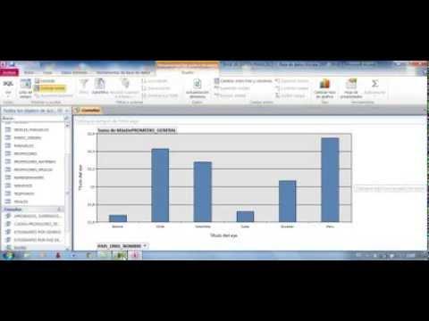 Tutorial En Access Con Tablas Y Graficos Dinamicos Mejores
