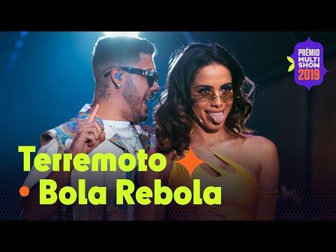 "Anitta Kevinho MC Zaac e Tropkillaz - ""Terremoto""  ""Bola Rebola"" AO VIVO no Prêmio Multishow 2019"