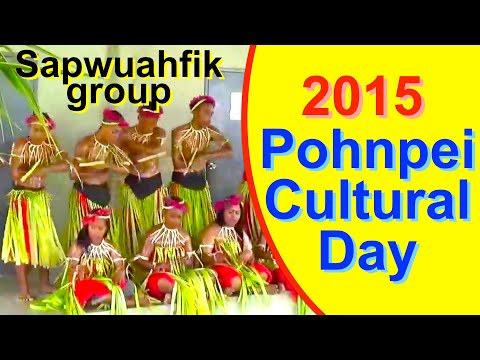 Sapwuahfik group, Pohnpei/FSM Cultural Day 2015