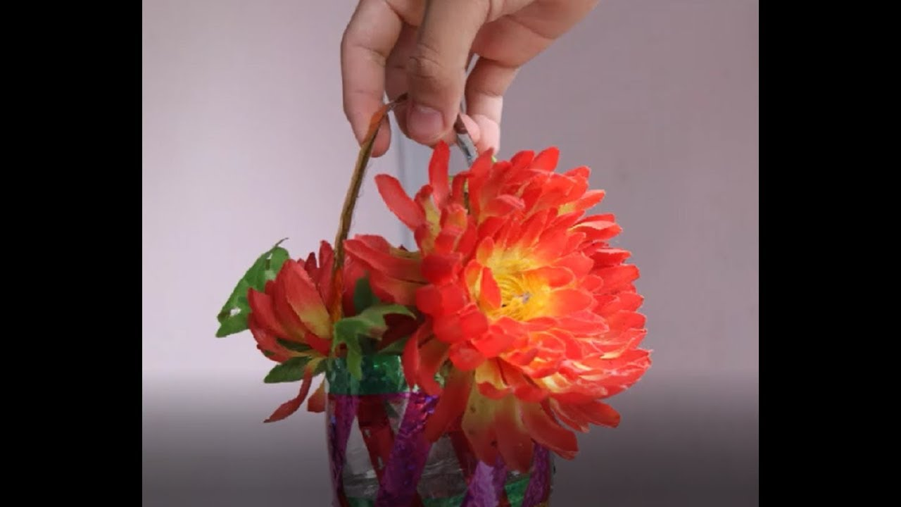 mini flower basket from waste, How to