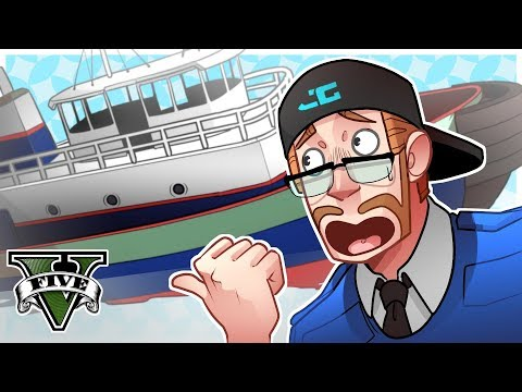 GTA 5 Roleplay - THEY HAVE A TUG BOAT! (GTA 5 Online Multiplayer)