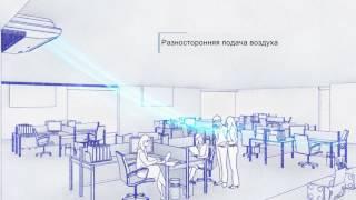 видео Универсальные напольно-потолочные кондиционеры