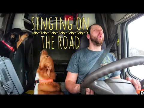 My Trucking Life - SINGING ON THE ROAD - #1588