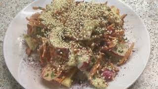 Салат из моркови, тунца и каперсов. И хрустящий мавританский салат/ Two carrot salads