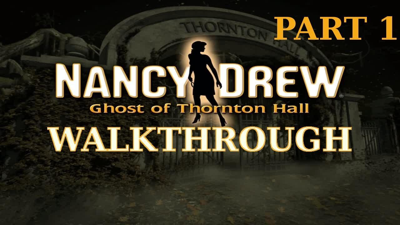 Nancy Drew: Ghost of Thornton Hall - Soluzione - PC - 120051