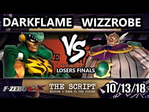 The Script -  Darkflame Vs.  Wizzrobe - F-Zero GX Losers Finals