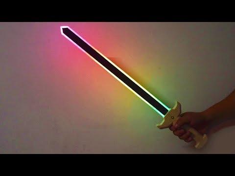 How to make a RGB dream color luminous sword