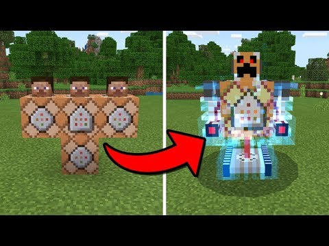 How To Spawn the COMMAND BLOCK BOSS in Minecraft PE
