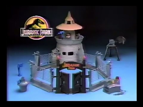 Jurassic Park Command Compound Toy Commercial (1993)