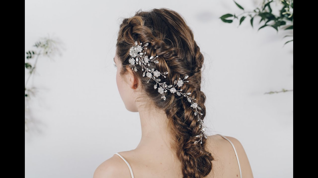 How to style bridal hair combs - and keep them secure in your hair ...