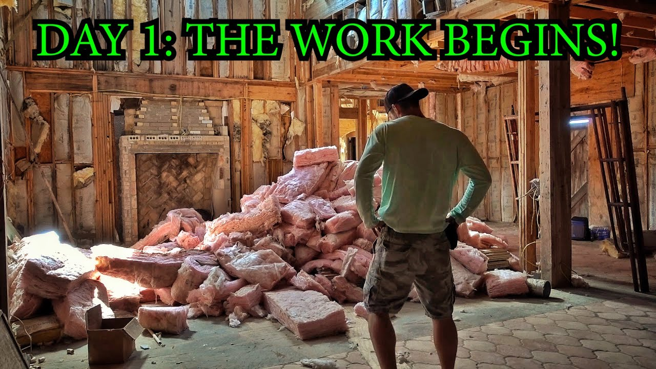 Renovating An Abandoned Mansion Part 1