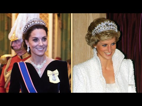 Kate Middleton Recycles Princess Diana&39;s Tiara PLUS All the Times She&39;s Taken Inspo From Her