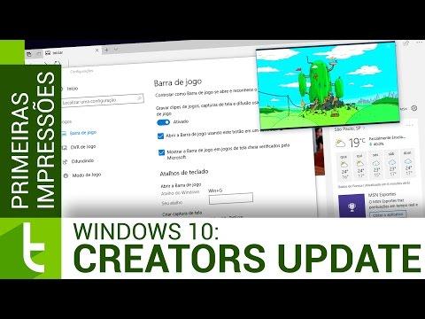 Windows 10 Creators Update: todas as novidades | Vídeo do TudoCelular