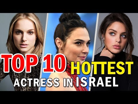 TOP 10 Hotest Actress In  Israel | Top Female Models Of Israel