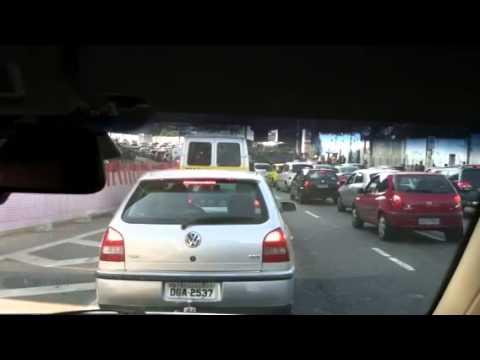 Sao Paulo, Brazil traffic jam