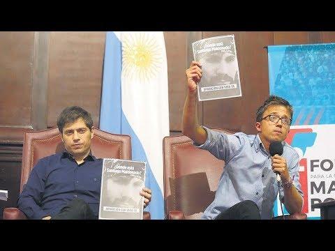 """Niñigo Errejón dispuesto a fundar el """"Ala Liberal"""" del Socialismo Peronista"""