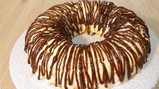 Торт без выпечки.Очень простой рецепт вкусного торта