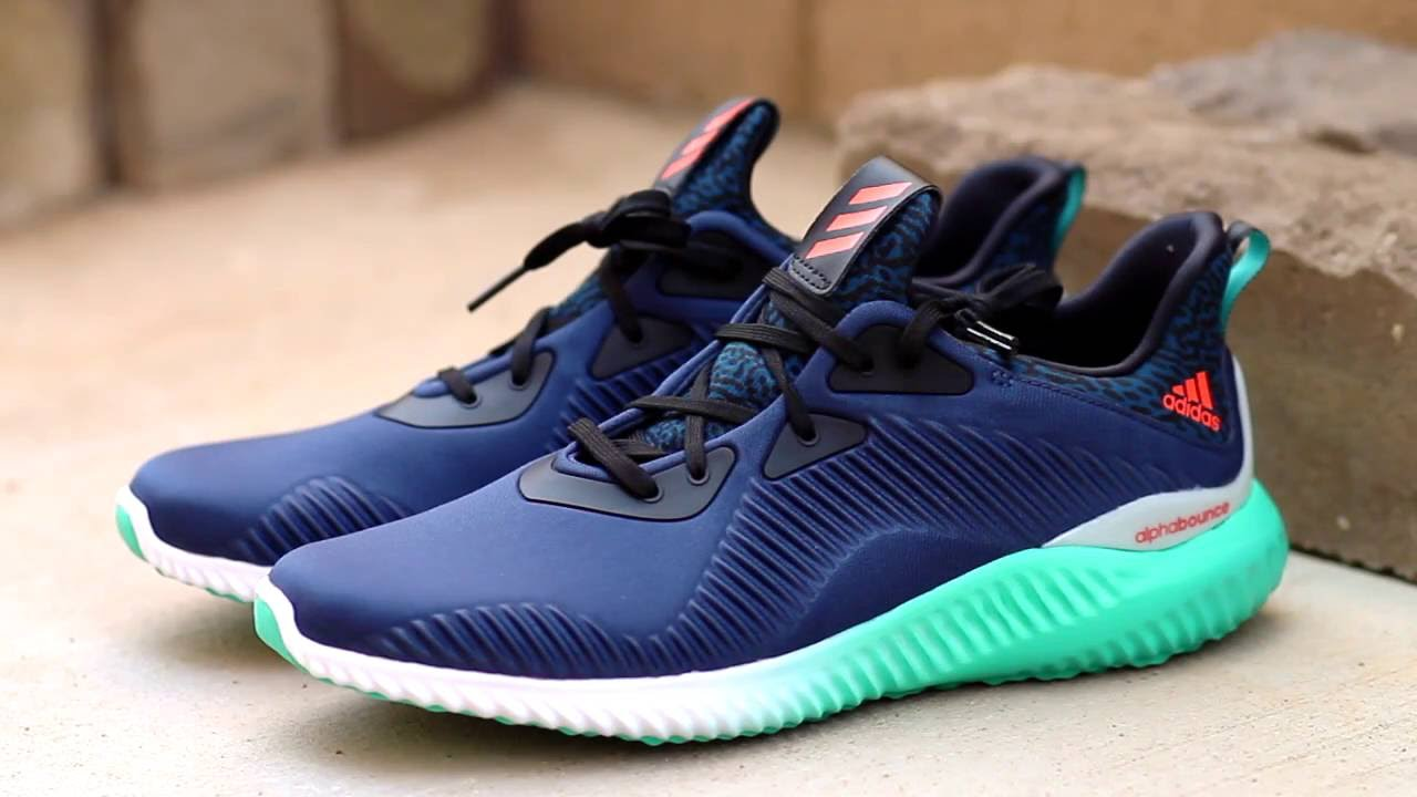 35c84eef9554a ADIDAS ALPHABOUNCE MULTICOLOR REVIEW + ON FOOT - YouTube