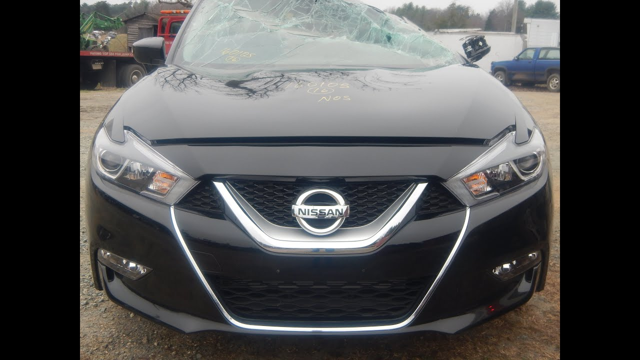 Parting Out 2016 Nissan Maxima M & M Salvage Yard (800) 533-4099 ...