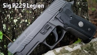 Sig P229 Legion...The Ultimate Sig Sauer?