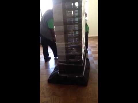 Packing and Moving a China Cabinet