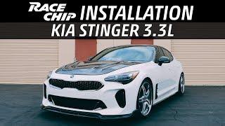 Kia Stinger 3.3L RaceChip Tuning Installation   Genesis G70   G80   G90   3.3 T-GDi