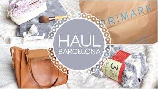 HAUL BARCELONA : Primark, Pull & Bear, Zara, NYX... Thumbnail