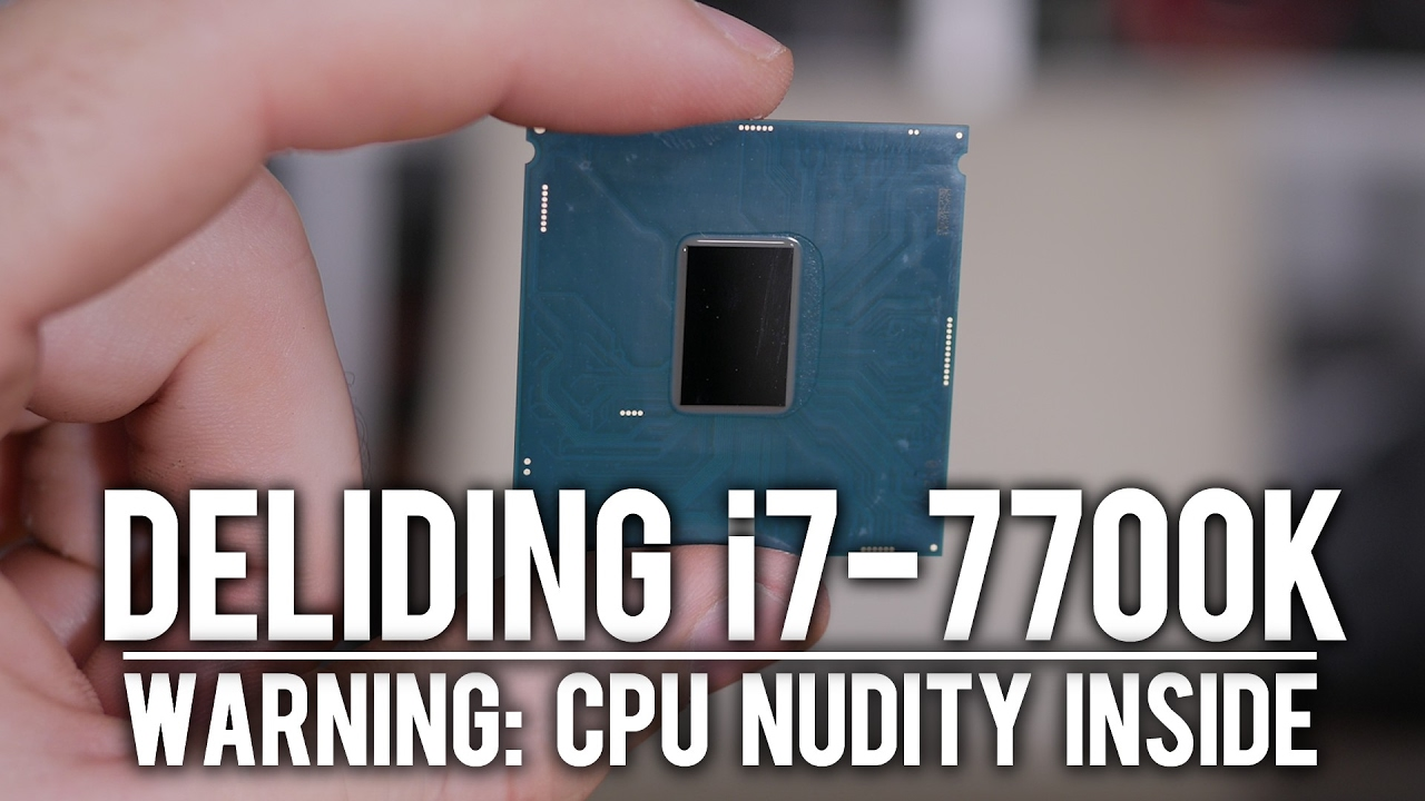 Intel responds to i7-7700K high temperature issue, tells