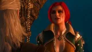Ведьмак 3. Секс с Трисс на маяке в 4K (PC, Rus, 2160p)