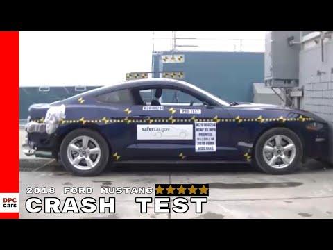 2018 Ford Mustang Crash Test & Rating
