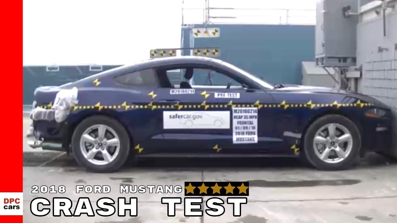 2018 Ford Mustang Crash Test Rating