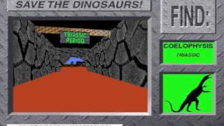 Save The Dinosaurs! Extinction from 3-D Dinosaur Adventure MS-DOS/Packard Bell Version Part 1
