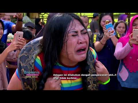 BROWNIS - Kocaak !! Boiyen Nangis Kabur Dikasih Ular Sama Ruben(8/4/18) Part 1