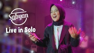 Cover images Deen Assalam - Sabyan Live Perfom Solo