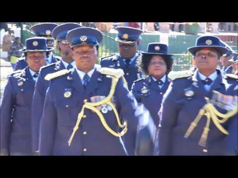 Ekurhuleni West Cluster SAPS Long Service Medal Parade 2