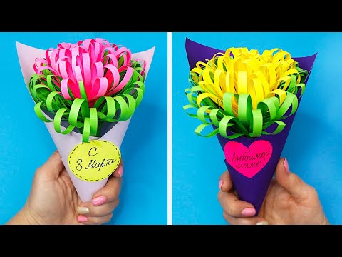 Как сделать подарок на день рождения тете своими руками из бумаги