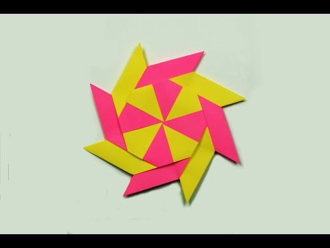 How to make a paper Transforming Ninja Star?