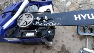 Hyundai motorlu testere