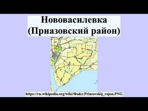 Нововасилевка (Приазовский район)