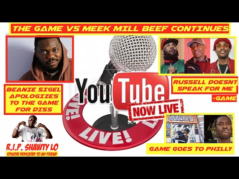 Beanie Sigel APPOLOGIZES to The Game, Game Goes To Philly, Safari Thanks Meek, | DAILY HIP HOP LIVE
