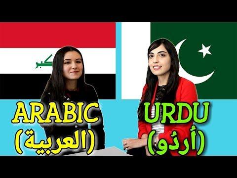 Similarities Between Arabic and Urdu
